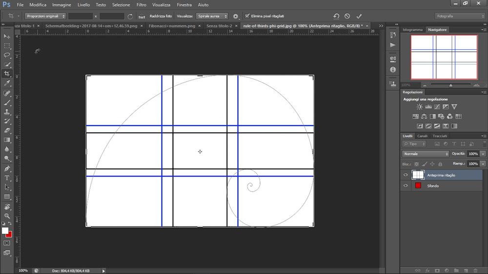 Spirale-di-Fibonacci-su-Photoshop