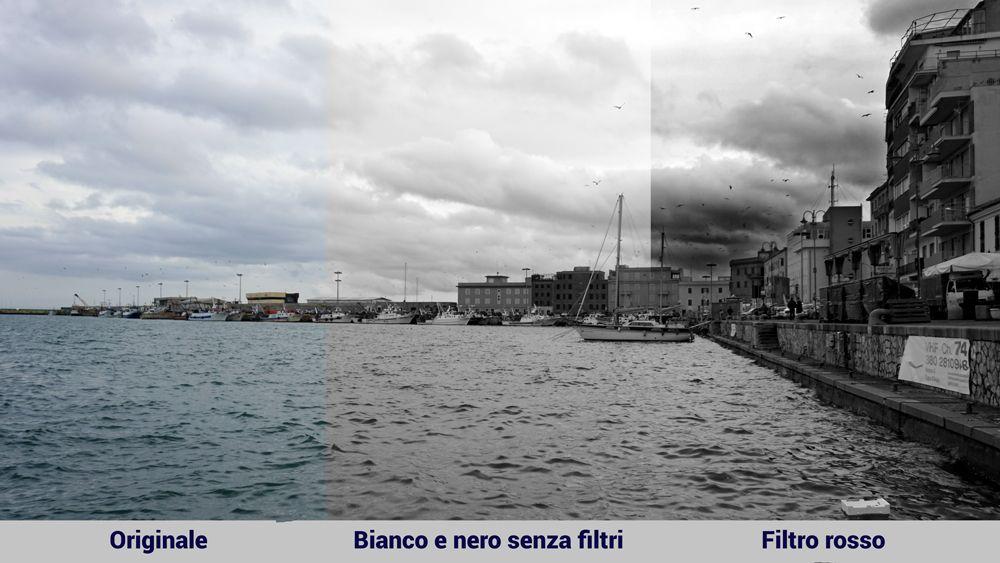 Come utilizzare i filtri nella fotografia in bianco e nero
