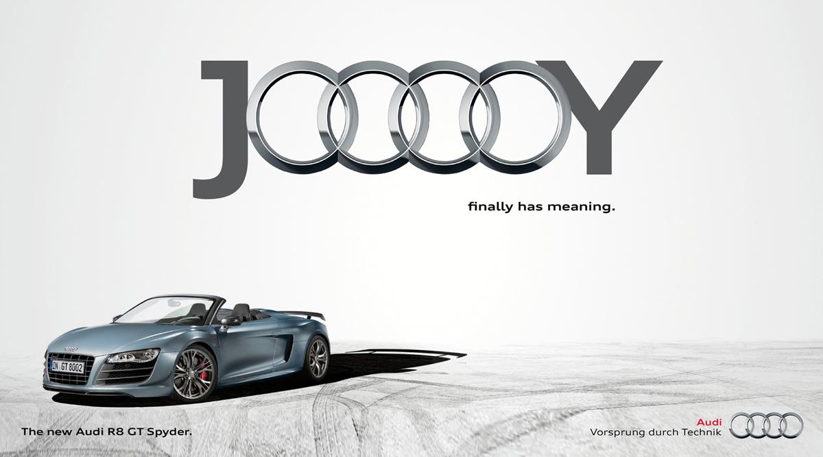 Pubblicità dell'Audi