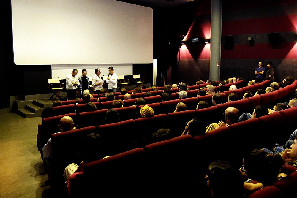 Proiezione del film a Roma