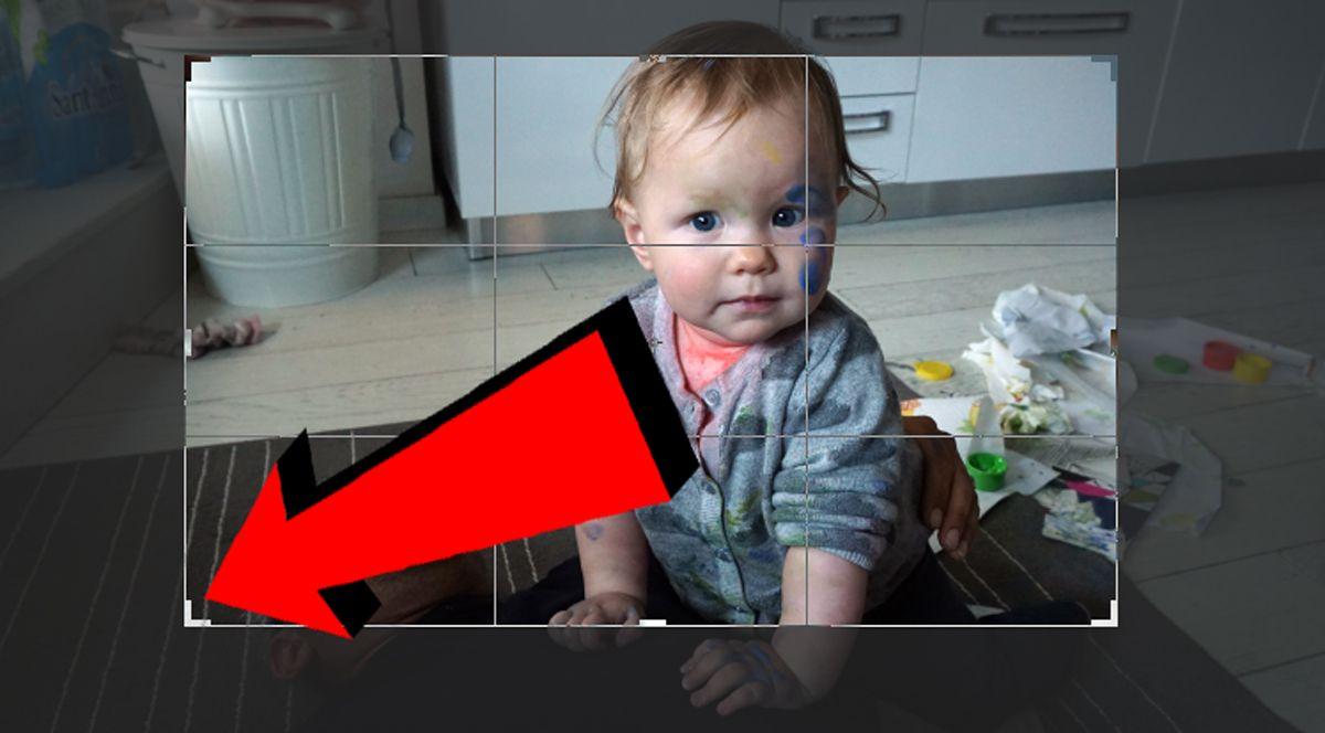 Ritaglio di una foto su Photoshop 003