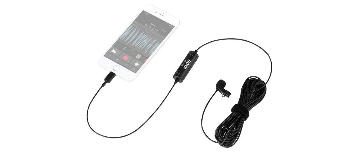 Microfono-Lavalier-per-IPhone