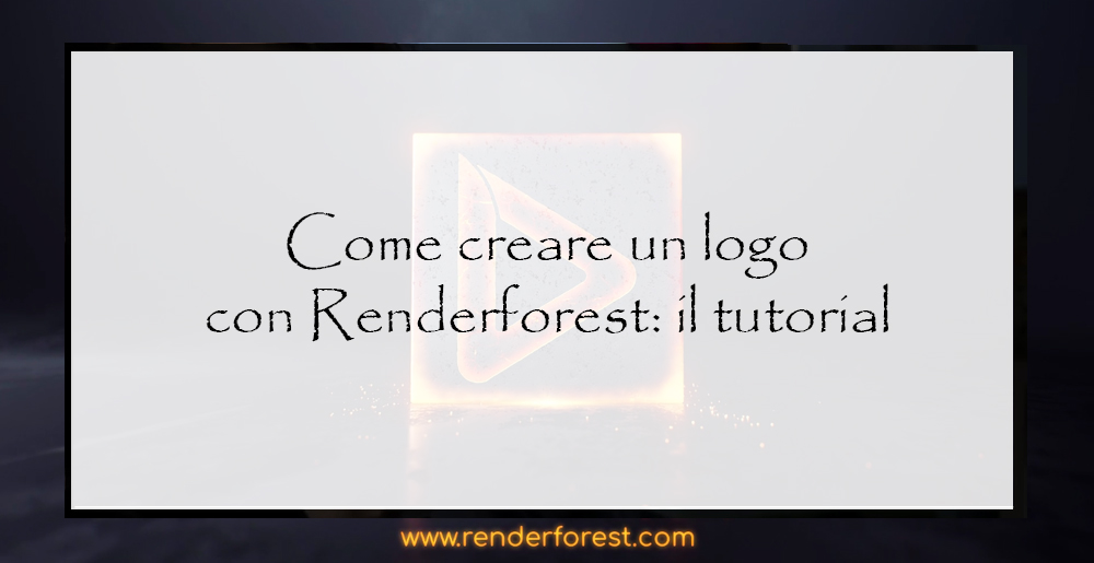Creare-un-logo-con-renderforest-in-italiano