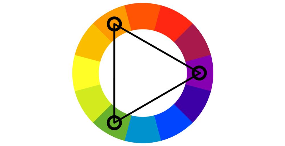 schema-di-colore-triadico